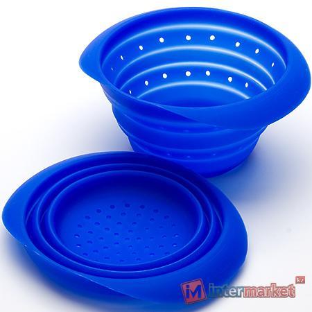 Дуршлаг МВ-4431-2, синий