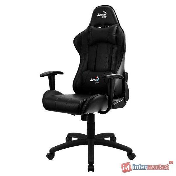 Компьютерное кресло AeroCool AC100 AIR игровое, черное