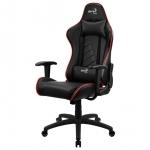 Компьютерное кресло AeroCool AC110 AIR игровое, черно-красное