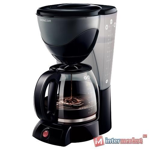 Кофеварка Sencor SCE 3000BK