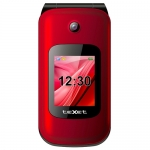 Телефон teXet TM-B216, Red