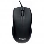 Мышь Delux DLM-375OUB black