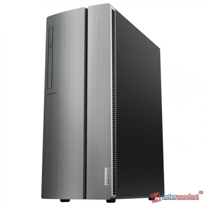 Системный блок Lenovo IdeaCentre 510-15ICB /Intel Pentium G5400 3.37GHz Dual/8GB/1TB/GMA HD/RD RX 550 2GB/B360/DVD-RW/CR/NO KB/NO MOUSE/DOS/1Y/BLACK+SILVER