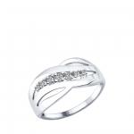 Кольцо Sokolov 94012170-16,5, серебро