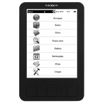 Электронная книга teXet TB-156, black