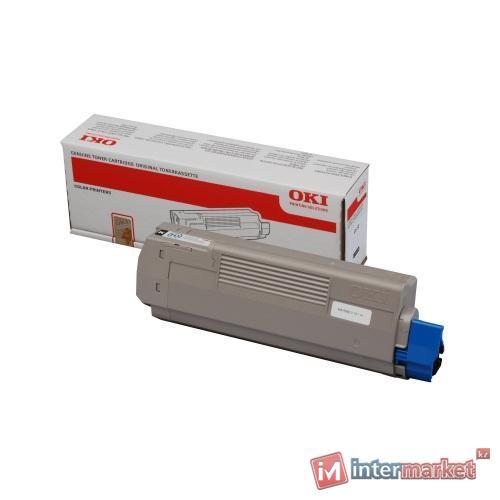 Тонер-картридж OKI Toner-MC851/861-Cyan - 7.3k Non EU